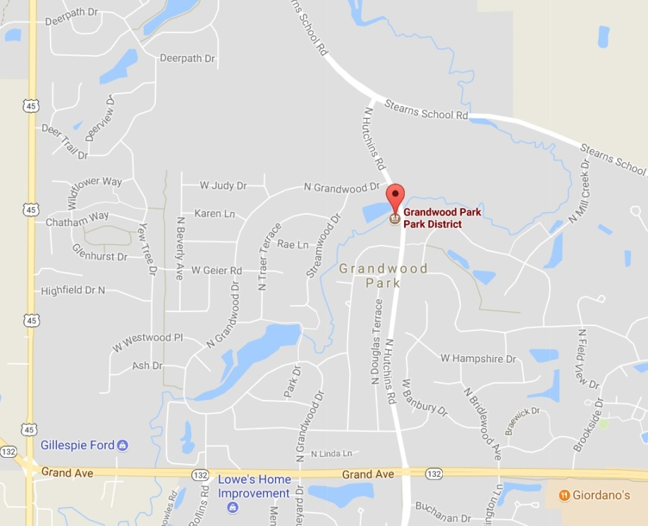 grandwood park map