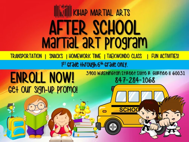 afterschool program flyer